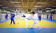 Belo Horizonte, 16 de agosto de 2010..Ensaio do Minas Tenis Clube, como formacao de novos atletas para as Olimpiadas de 2016...Na foto, sala de treinamento do Judo...Foto: Bruno Magalhaes / Nitro