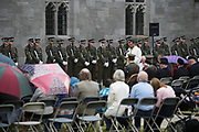 08/07/2018  repro  free: Khalid Sallabi  at The National Day of Commemoration Ceremony at NUI Galway in honour of all those Irishmen and Irish Women who served in past wars or on Service with the UN.Photo:Andrew Downes, XPOSURE