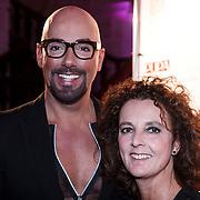 NLD/Amsterdam/20131111 - Beau Monde Awards 2013, Maik de Boer en zus