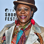 Lorna Gayle attend TriForce Short Festival, on 30 November 2019, at BFI Southbank, London, UK.
