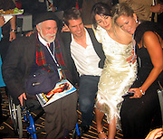 Ron Kovic, Tom Cruise & Penalope Cruz.Vanilla Sky Post Premiere Party.Chinese Theater Ball Room.December 10, 2001.Los Angeles, Ca.Photo By CelebrityVibe.com..