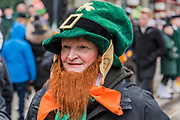 Leprechauns -  the London St Patrick's Day parade from Piccadilly to Trafalgar Square.