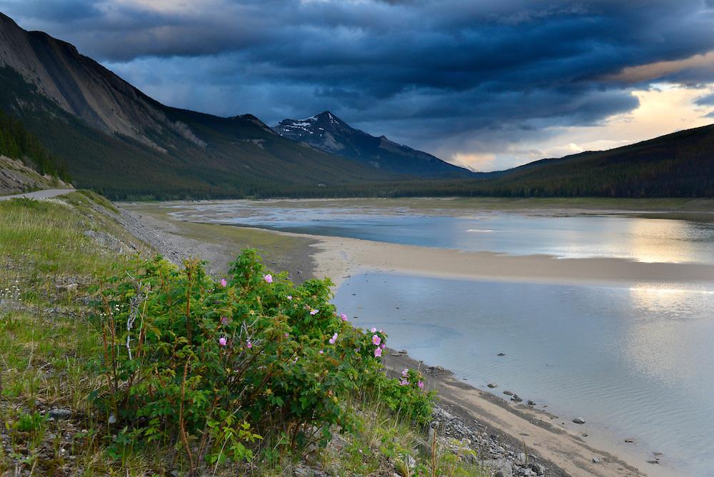Medicine Lake, Jasper National Park, Alberta, Canada