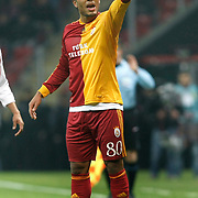 Galatasaray's Colin Kazim RICHARDS during their Turkey Cup Quarter final matchday 2 Galatasaray between Gasiantepspor at the AliSamiYen Turk Telekom Arena in Istanbul Turkey on Wednesday 02 March 2011. Photo by TURKPIX
