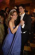 Ashley Bush and Prince Ashley Poniatowski, The 2005 Crillon Debutante Ball. Crillon Hotel, Paris. 26  November 2005. ONE TIME USE ONLY - DO NOT ARCHIVE  © Copyright Photograph by Dafydd Jones 66 Stockwell Park Rd. London SW9 0DA Tel 020 7733 0108 www.dafjones.com