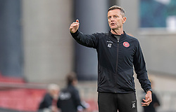 Fysisk træner Ashley Tootle (AaB) under kampen i 3F Superligaen mellem FC København og AaB den 17. juni 2020 i Telia Parken, København (Foto: Claus Birch).