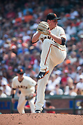 San Francisco Giants relief pitcher Kyle Crick (59) pitches against the St. Louis Cardinals at AT&T Park in San Francisco, California, on September 3, 2017. (Stan Olszewski/Special to S.F. Examiner)