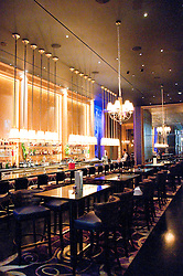 USA Las Vegas, Aria resort on the Strip, with its emphasis on design and outdoor pools. Design of restaurant Sage.