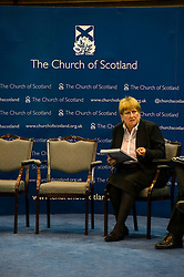 Pictured: Annabel Goldie<br /> <br /> The People Politics Hustings,  organised by the Church of Scotland, allowed voters to question SNP deputy John Swinney, Scottish Labour leader Kezia Dugdale, Scottish Liberal Democrat leader Willie Rennie, Scottish Greens co-convener Patrick Harvie and former Scottish Conservatives leader Annabel Goldie ahead of the Scottish Elections. Before the politicians had a chance to speak they had a chance to listen to five speakers with different viewpoints on how Scotland has supported them in the past and how it should support them in the future..<br /> Ger Harley | EEm 4 April 2016
