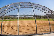 Softball Field at Sendero Field Park in Rancho MIssion Viejo