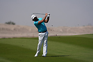 Victor Dubuisson (FRA) on the 9th during Round 3 of the Oman Open 2020 at the Al Mouj Golf Club, Muscat, Oman . 29/02/2020<br /> Picture: Golffile | Thos Caffrey<br /> <br /> <br /> All photo usage must carry mandatory copyright credit (© Golffile | Thos Caffrey)