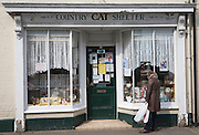 Country Cat Shelter charity shop, Beccles, Suffolk, England