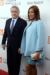 NEW YORK, NY - MAY 08: Robert De Niro, Grace Hightower attends the 44th Chaplin Award Gala at David H. Koch Theater at Lincoln Center on May 8, 2017 in New York City..People:  Robert De Niro, Grace Hightower. (Credit Image: © SMG via ZUMA Wire)