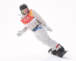 USA's Gerard Redmond during his first run in qualification for Men's Snowboard Slopestyle the PyeongChang 2018 Winter Olympic Games in South Korea.
