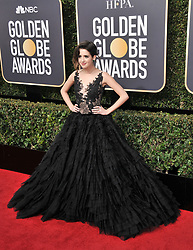Laura Marano at the 75th Golden Globe Awards held at the Beverly Hilton in Beverly Hills, CA on January 7, 2018.<br /><br />(Photo by Sthanlee Mirador)