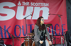 The Ronains on the Sun Break Out stage. Sunday at Party at the Palace 2017, Linlithgow.
