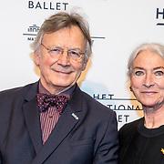 NLD/Amsterdam/20180324 - inloop première Dutch Doubles ballet, Han Ebbelaar en partner Alexandra Radius