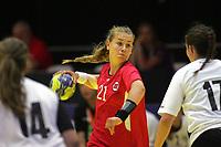 Håndball<br /> Foto: imago/Digitalsport<br /> NORWAY ONLY<br /> <br /> 15.07.2013 Utrecht (Netherlands) Summer EYOF men s handball girls Norge v Tyskland Kjerstin Boge Solås (c) Norway