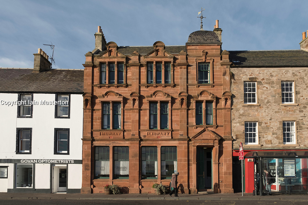 Murray Library now a hostel in Anstruther fishing village in East Neuk of Fife in Scotland, United Kingdom