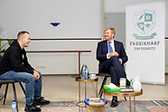 10-09-2020, King Willem-Alexander talked about preventing drug crime among youngsters