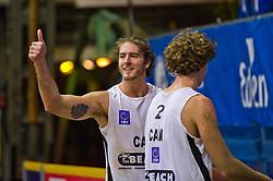 07-01-2011 VOLLEYBAL: CEV SATELLITE INDOOR BEACHVOLLEYBALL: AALSMEER<br /> The first CEV Indoor beachvolleyball tournament / Martin Reader CAN<br /> ©2011-WWW.FOTOHOOGENDOORN.NL / Peter Schalk