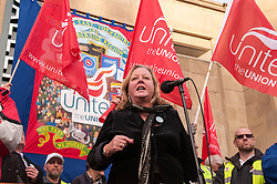 Unite Pickets during the N30 day of action, Leeds
