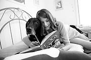 Carli Isaacson and her dog JayJay