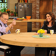 """Rachael Ray and Larry King on """"The Rachael Ray Show"""""""