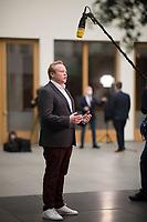 DEU, Deutschland, Germany, Berlin, 03.11.2020: Der Chef der Jungen Union (JU), Tilman Kuban (CDU), bei Pressestatements nach der Vorstellung der Ergebniss der JU-Mitgliederbefragung zum CDU-Parteivorsitz in der Bundespressekonferenz.