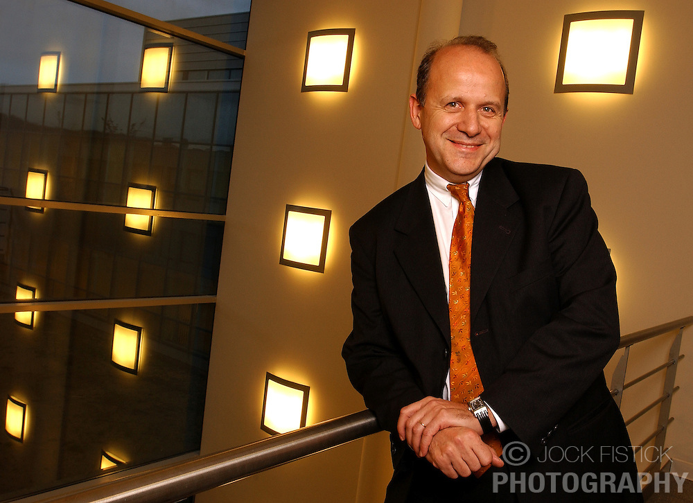 Roch Deliveux, Chief Executive Officer of UCB Pharmaceuticals. (Photo © Jock Fistick)