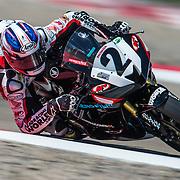August 3, 2013 - Tooele, UT - Joe Roberts competes in SuperSport Race 1 at Miller Motorsports Park.