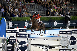 Duguet Romain, SUI, Quorida de Treho<br /> Furusiyya FEI Nations Cup Jumping Final - Barcelona 2016<br /> © Hippo Foto - Dirk Caremans<br /> 24/09/16