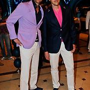 NLD/Noordwijk/20100502 - Gerard Joling 50ste verjaardag, Victor Brand en partner Andre
