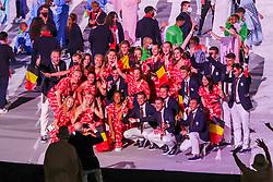 Opening Ceremony, Belgium<br /> Olympic Games Tokyo 2021<br /> © Hippo Foto - Dirk Caremans<br /> 23/07/2021