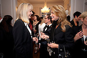 NIKKI PAGE; MAUREEN SUTHERLAND-SMITH, Tuxedo: The Little Black Jacket project Ð a collaboration between London College of Fashion and Henry Poole and Co, Quintessentially . 29 Portland Place, London. 7 September 2011. <br /> <br />  , -DO NOT ARCHIVE-© Copyright Photograph by Dafydd Jones. 248 Clapham Rd. London SW9 0PZ. Tel 0207 820 0771. www.dafjones.com.<br /> NIKKI PAGE; MAUREEN SUTHERLAND-SMITH, Tuxedo: The Little Black Jacket project – a collaboration between London College of Fashion and Henry Poole and Co, Quintessentially . 29 Portland Place, London. 7 September 2011. <br /> <br />  , -DO NOT ARCHIVE-© Copyright Photograph by Dafydd Jones. 248 Clapham Rd. London SW9 0PZ. Tel 0207 820 0771. www.dafjones.com.