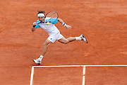 Roland Garros 2011. Paris, France. 22 Mai 2011..Spanish player David FERRER against Jarkko NIEMINEN