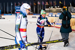 November 24, 2018 - Ruka, FINLAND - 181124 Stina Nilsson of Sweden looks dejected after competing in the women's sprint classic technique final during the FIS Cross-Country World Cup premiere on November 24, 2018 in Ruka  (Credit Image: © Carl Sandin/Bildbyran via ZUMA Press)