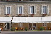 Hotel Restaurant Le Montrachet in Puligny Montrachet. Burgundy, France