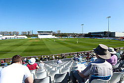 A general view of The 3aaa County Ground as Derbyshire take on Middlesex- Mandatory by-line: Robbie Stephenson/JMP - 20/04/2018 - CRICKET - The 3aaa County Ground  - Derby, England - Derbyshire CCC v Middlesex CCC - Specsavers County Championship Division Two