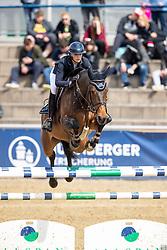 WARGERS Jana (GER), SIG Chiari<br /> Mannheim - Maimarkt Turnier 2019<br /> Preis der BROSE Unternehmensgruppe GmbH & Co.KG, Coburg<br /> Int. Springprüfung mit Stechen (1.45-1,50 m) <br /> CSIYH1*<br /> Finale 7- und 8jährige Pferde<br /> 07. Mai 2019<br /> © www.sportfotos-lafrentz.de/Stefan Lafrentz