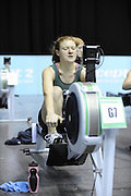 Birmingham, Great Britain, Women's Open Lwt,  .Maddie GLEAVE, Maidenhead, competing at the 2008 British Indoor Rowing Championships, National Indoor Arena. on  Sunday 26.10.2008 .   [Photo, Peter Spurrier/Intersport-images] ..