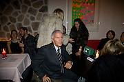LARRY GAGOSIAN,  Prada Congo Art Party hosted by Miuccia Pada and Larry Gagosian. The Double Club,  Torrens St. London EC1. The Double Club is A Carsten Holler project by Fondazione Prada. 10 February 2009. *** Local Caption *** -DO NOT ARCHIVE-© Copyright Photograph by Dafydd Jones. 248 Clapham Rd. London SW9 0PZ. Tel 0207 820 0771. www.dafjones.com.<br /> LARRY GAGOSIAN,  Prada Congo Art Party hosted by Miuccia Pada and Larry Gagosian. The Double Club,  Torrens St. London EC1. The Double Club is A Carsten Holler project by Fondazione Prada. 10 February 2009.