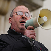 Speaker against hate and in solidarity with the Muslim community of the outrageous 'Punish a Muslim Day' letter recently sent to homes across the country is yet another example of anti-Muslim hate crime which has doubled over the last year on the 3rd March 2018 at Islington Town Hall, London, UK.