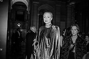 GWENDOLINE CHRISTIE, Alexander McQueen: Savage Beauty Gala, Victoria and Albert Museum, and A. 12th March 2015