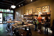 Shopping at Cacao, a chocolate Bar in Portland, Oregon