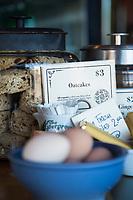Blue Scorcher Cafe. Astoria, Oregon.