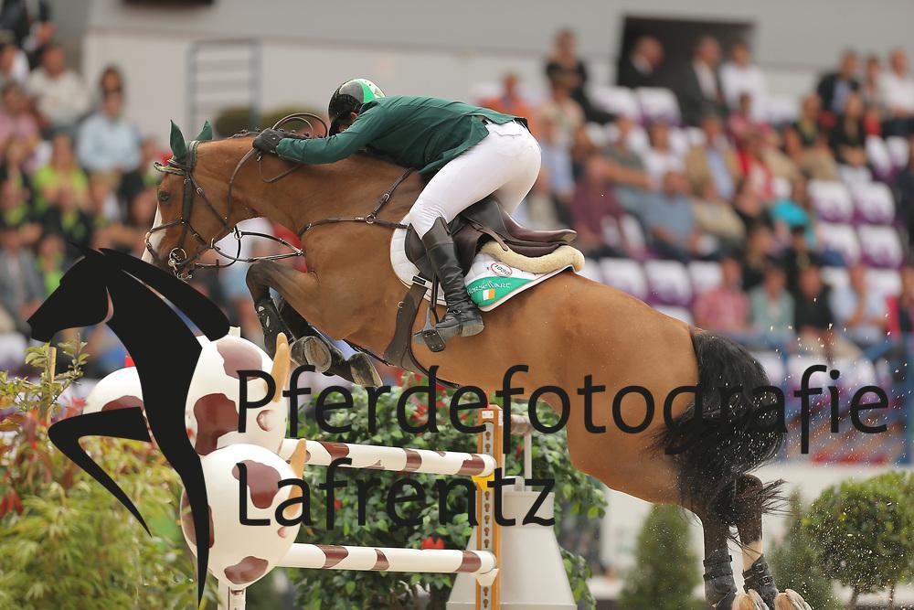 Hanely, Cameron, Antello Z<br /> Normandie - WEG 2014<br /> Springen - Finale III<br /> © www.sportfotos-lafrentz.de/ Stefan Lafrentz