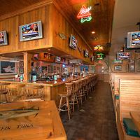 Quarterdeck Restaurant interior remodel, commissioned by Telesco Construction, Miami.