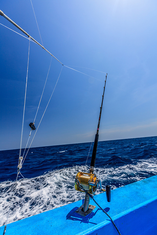 Deep sea fishing in the Indian Ocean on Kenya coast. Ever since Ernest Hemingway fished for marlin and sailfish off the Kenyan Coast in the 1950s, the tropical waters of East Africa have been famous for Big Game Fishing.