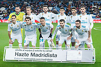 Real Madrid during King's Cup match between Real Madrid and CD Numancia at Santiago Bernabeu Stadium in Madrid, Spain. January 10, 2018. (ALTERPHOTOS/Borja B.Hojas)